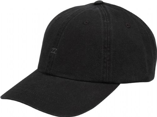 BILLABONG MENS BASEBALL CAP.ALL DAY LAD UNSTRUCTURED BLACK CURVED PEAK HAT 8W 9